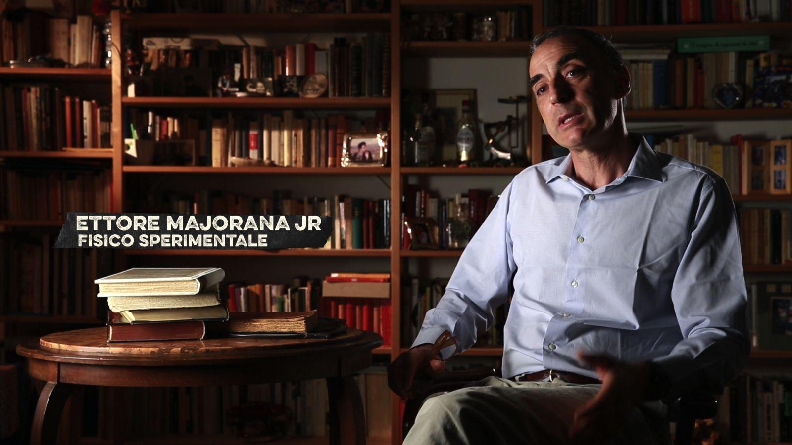 Nessuno mi troverà - Majorana Memorandum: Ettore Majorana Jr. in un'immagine del documentario