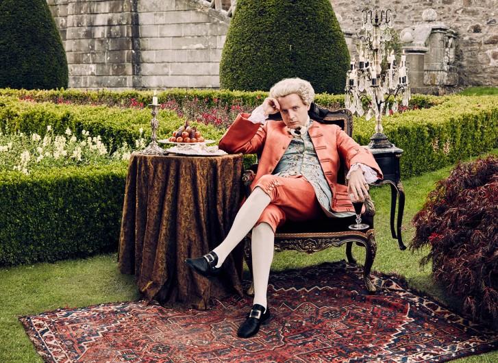 Outlander: l'attore Andrew Gower è il principe Charles