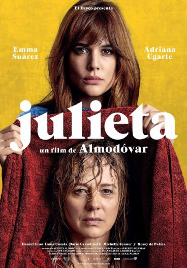 Julieta: poster originale del film