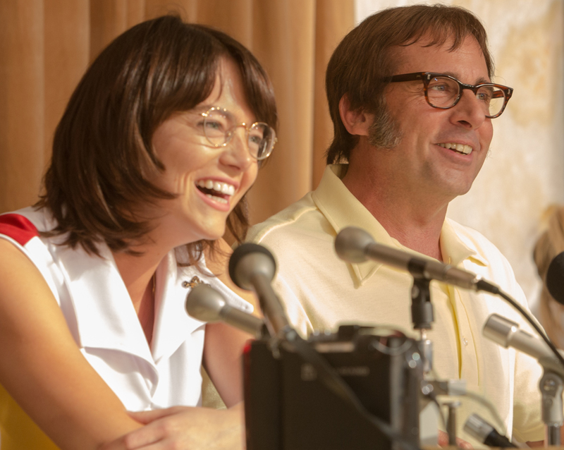 Battle of the Sexes: Emma Stone e Steve Carell nella prima foto