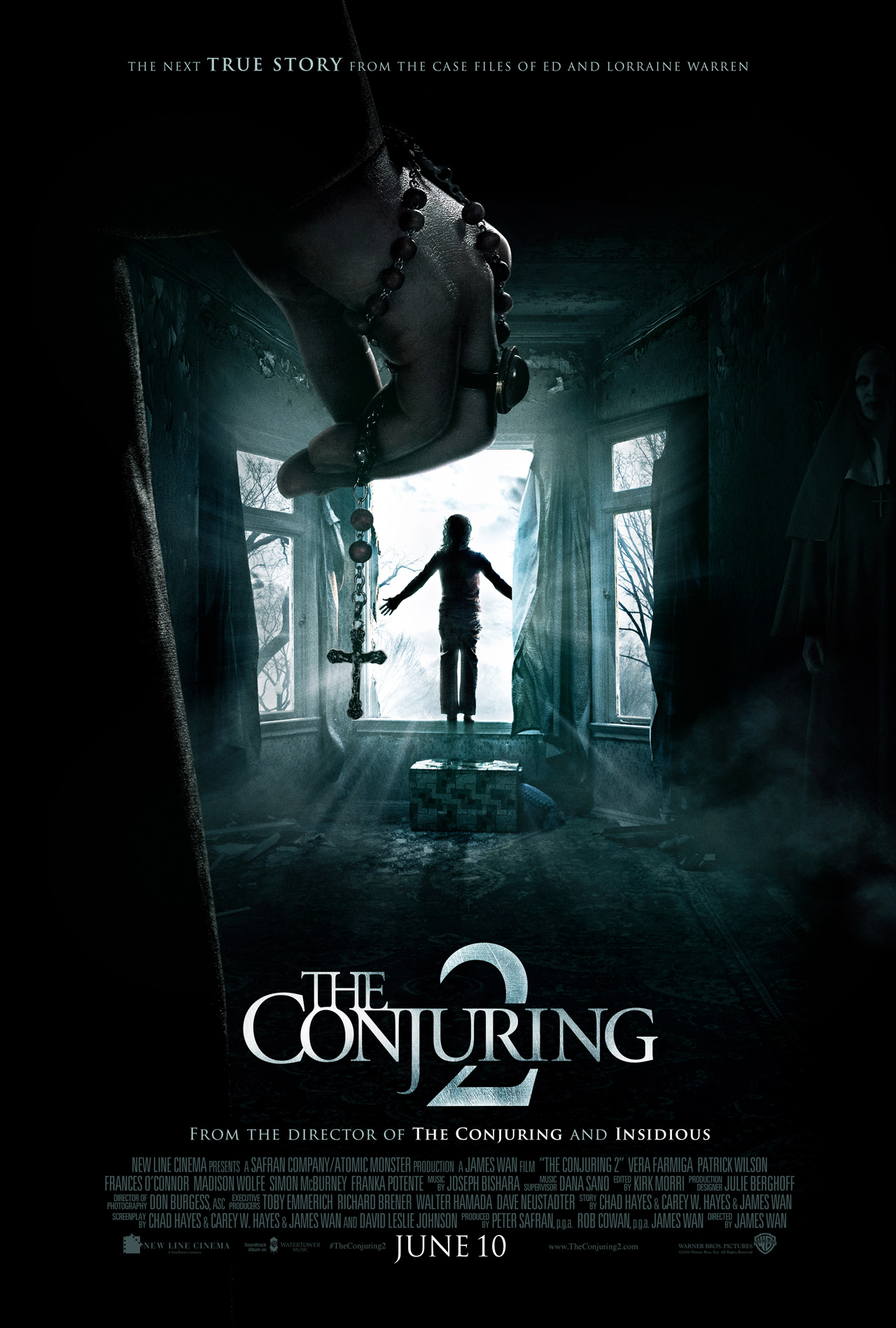 The Conjuring 2: la nuova locandina originale
