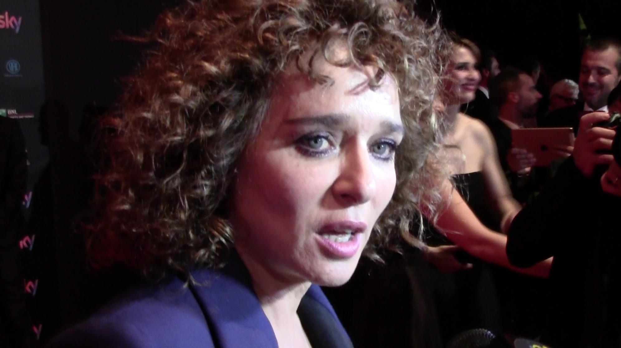 Valeria Golino ai David di Donatello 2016