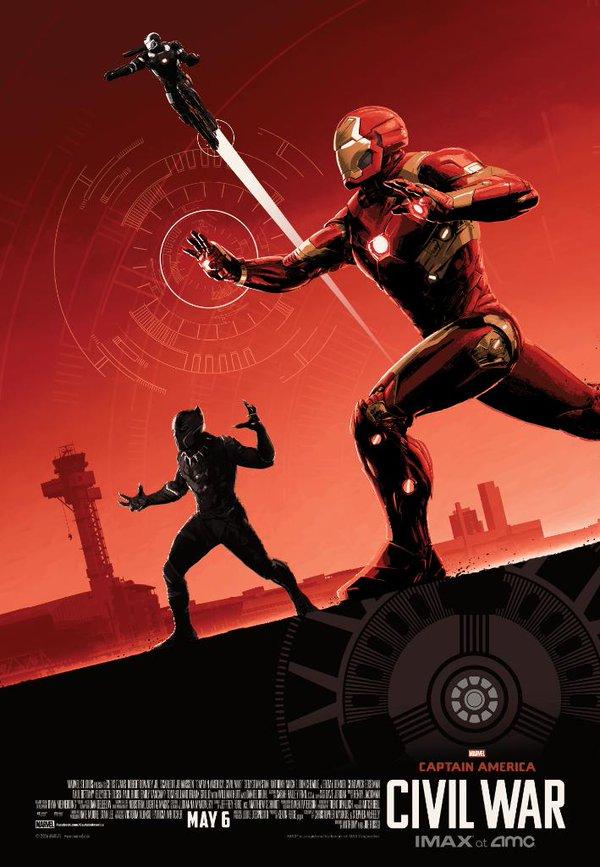 Captain America: Civil War - Un poster dedicato al Team Iron Man