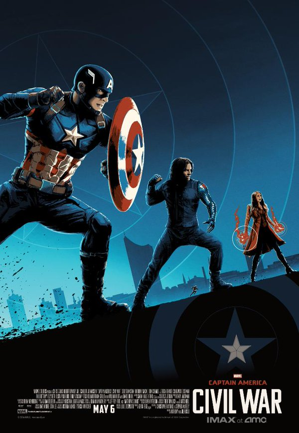 Captain America: Civil War - Un poster dedicato al Team Captain America