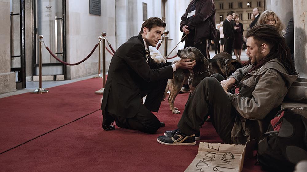 Corpo estraneo: Riccardo Leonelli in un momento del film