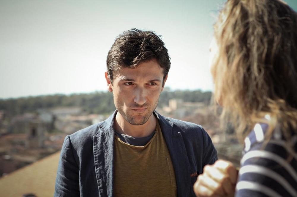 Corpo estraneo: Riccardo Leonelli in una scena del film