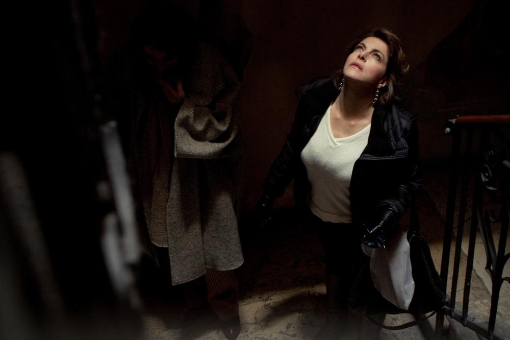 Il traduttore: Claudia Gerini in una scena del film