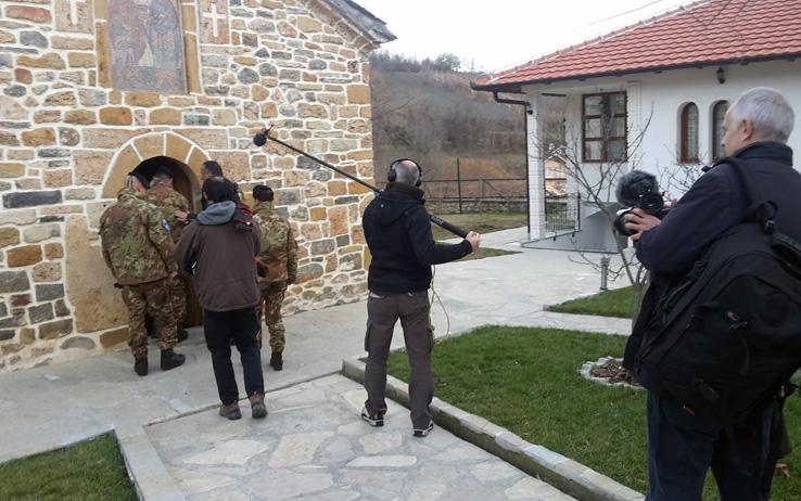 Nella terra dei merli: Kosovo tra passato e futuro - Un'immagine delle riprese