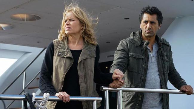 Fear the Walking Dead: Kim Dickens e Cliff Curtis in We All Fall Down