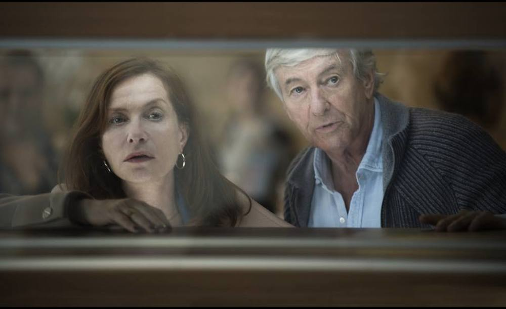 Elle: Isabelle Huppert e Paul Verhoeven in un'immagine dal set