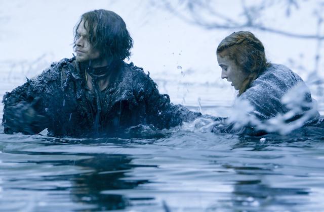 Il trono di spade: Theon e Sansa in The Red Woman