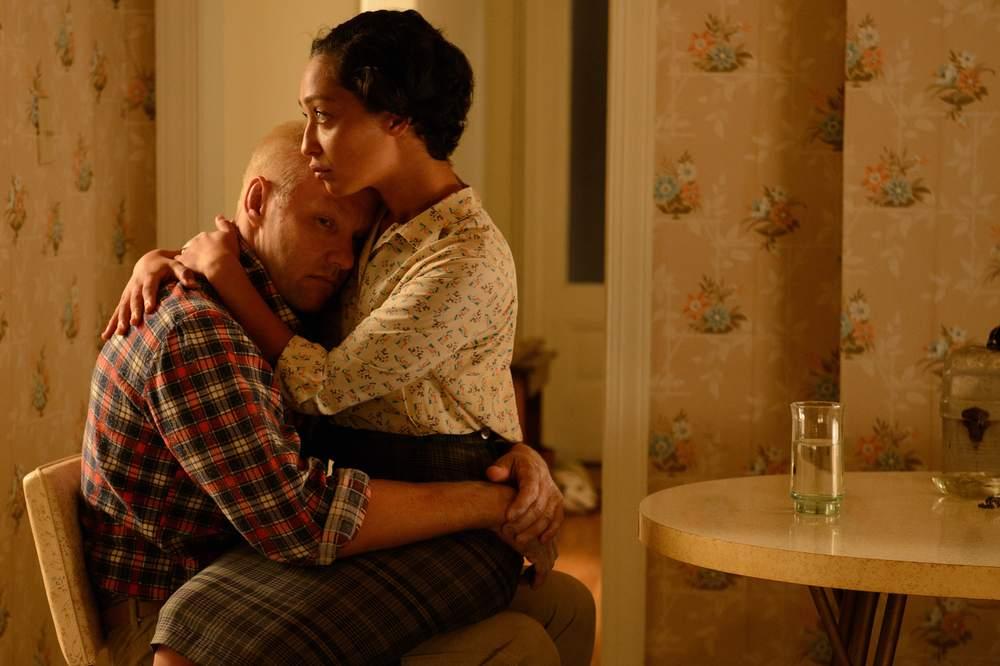 Loving: Joel Edgerton e Ruth Negga insieme in una scena del film