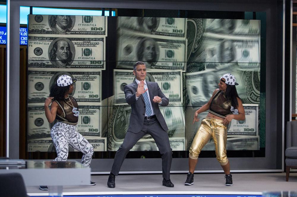 Money Monster - L'altra faccia del denaro: George Clooney in un momento del film