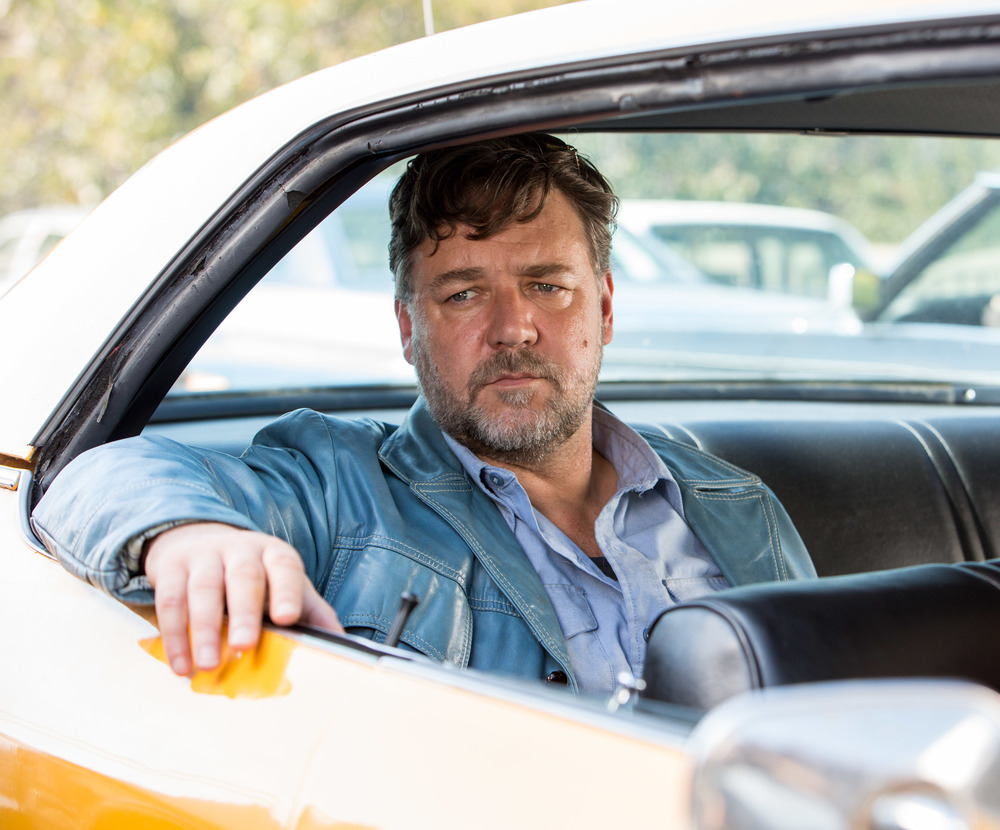The Nice Guys: Russell Crowe in una scena del film