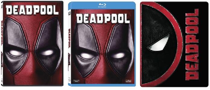 Le cover homevideo di Deadpool