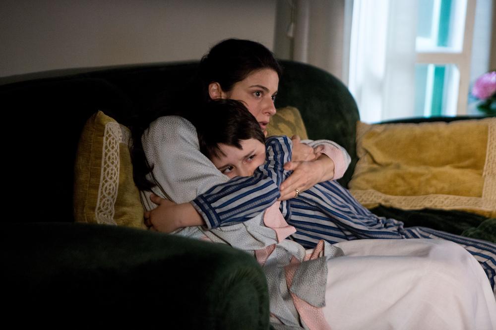 Fai bei sogni: Nicolò Cabras e Barbara Ronchi in un momento del film