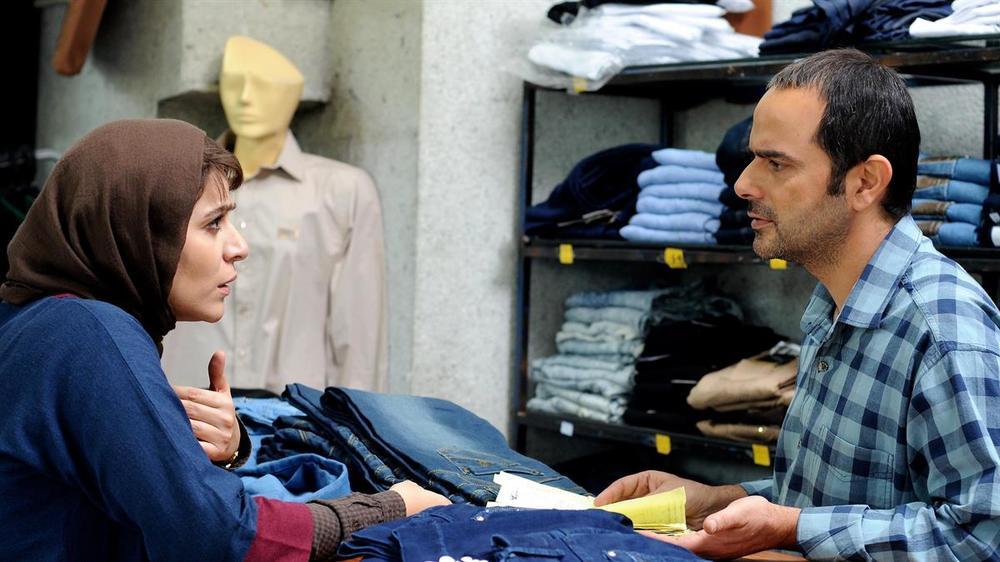 Inversion: Sahar Dowlatshahi e Ali Mosaffa in una scena del film