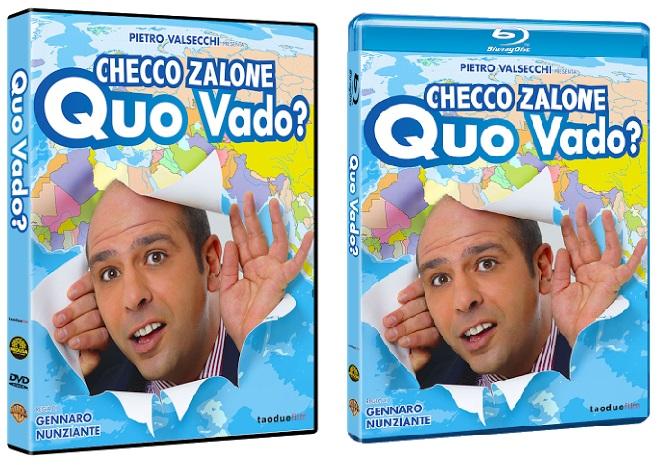 Le cover homevideo di Quo Vado?