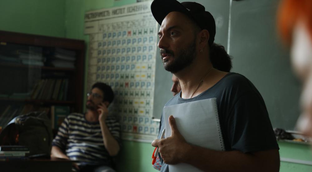 The Student: il regista Kirill Serebrennikov sul set