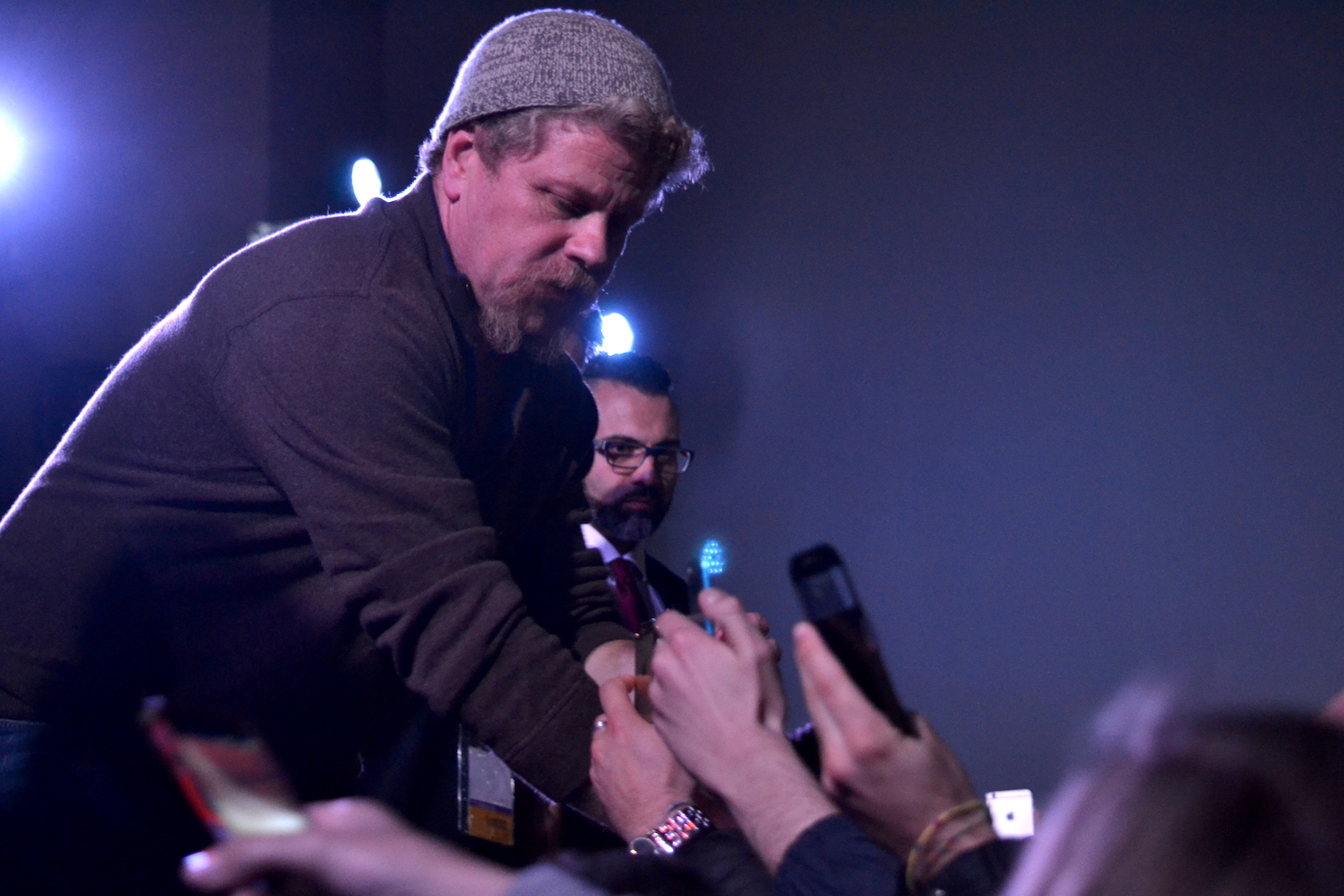 Comicon 2016: Michael Cudlitz in mezzo ai fan