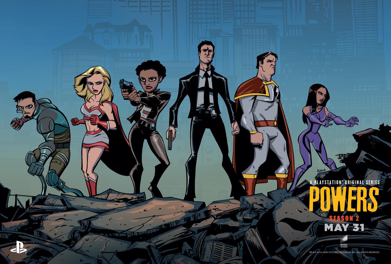 Powers: immagine promozionale per la seconda stagione