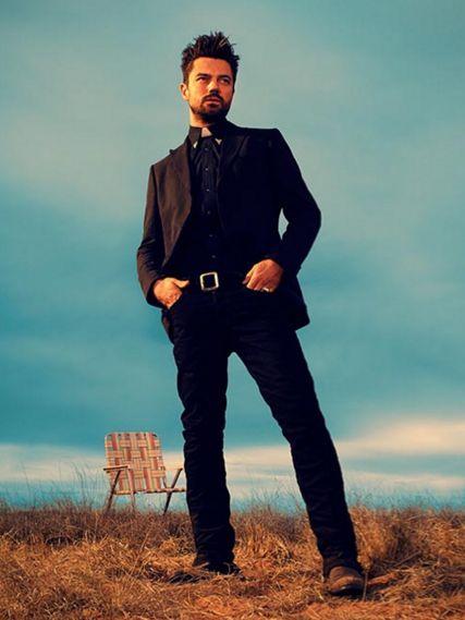 Preacher: Dominic Cooper in una foto promozionale dello show