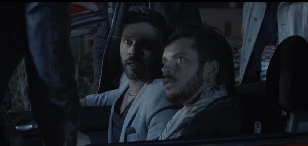 InFernet: Andrea Montovoli e Luca Seta in una scena del film