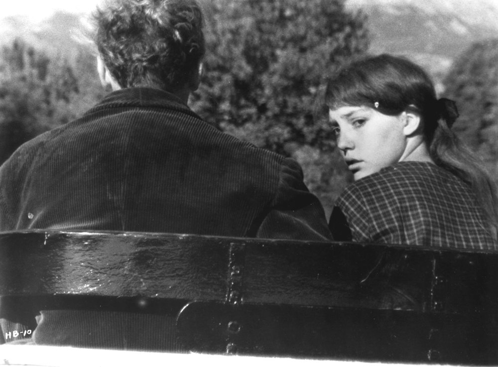 Au hasard Balthazar: Anne Wiazemsky in una bella immagine del film
