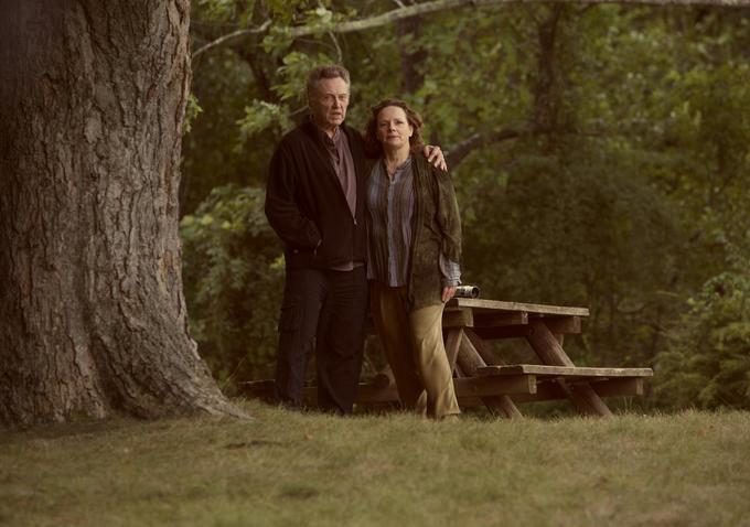 La famiglia Fang: Maryann Plunkett e Christopher Walken in una scena