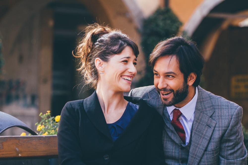 My Father Jack: Claudia Vismara e Matteo Branciamore in una scena del film