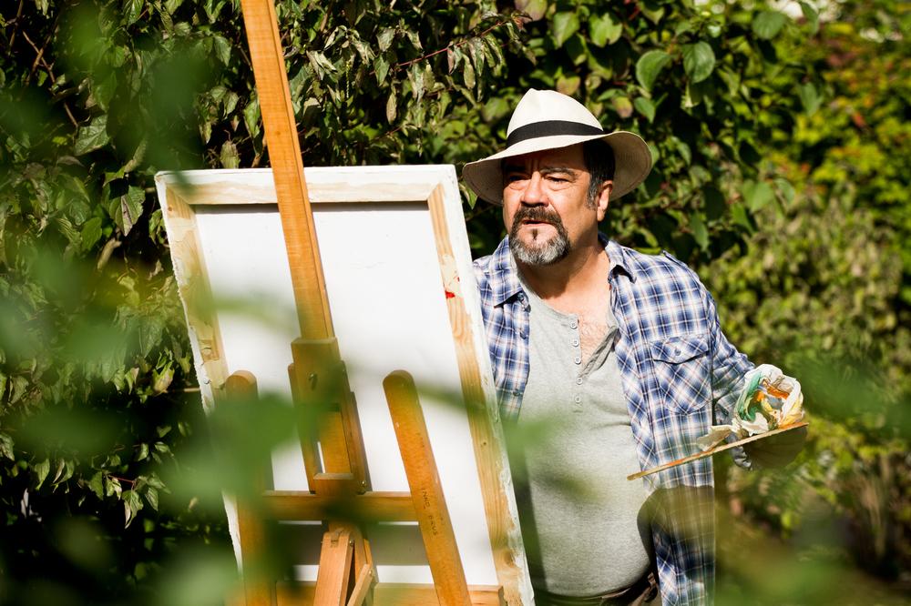 My Father Jack: Francesco Pannofino in una scena del film