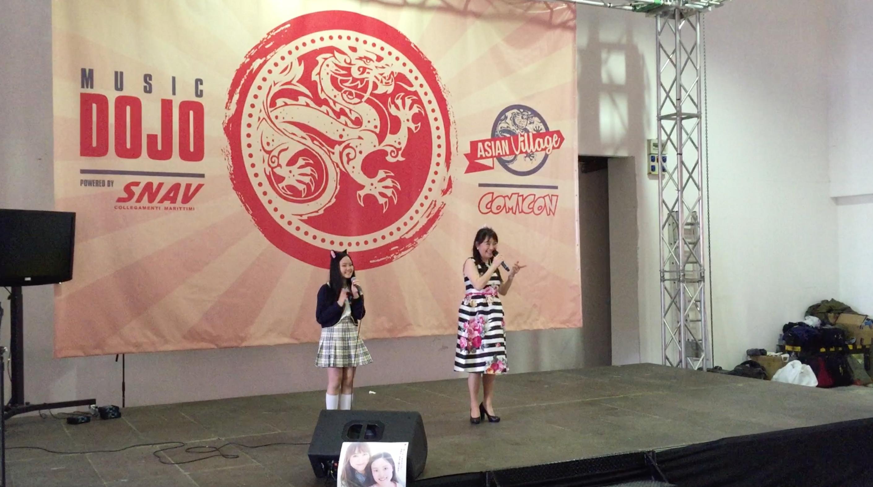 Comicon 2016: Azumi e Yuyu Inoue si esibiscono per il pubblico di Napoli