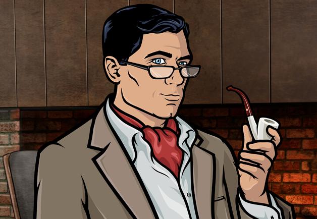 Archer: un'immagine del protagonista