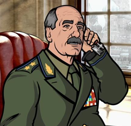 Archer: alcuni personaggi dello show animato