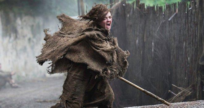 Il trono di spade: Maisie Williams in una foto di Home
