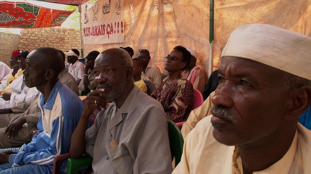 Hissein Habré, A Chadian Tragedy: un momento del documentario