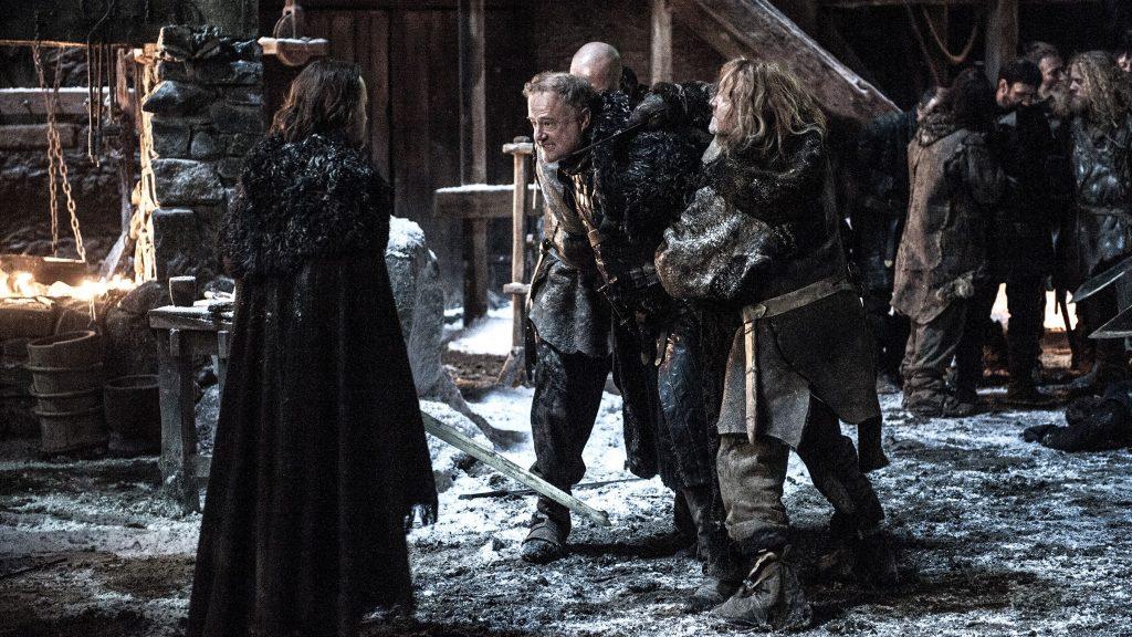 Il trono di spade: Ben Crompton e Owen Teale in una foto dell'episodio Home