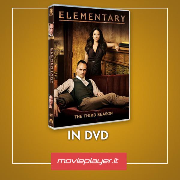 La cover DVD di Elementary - Stagione 3
