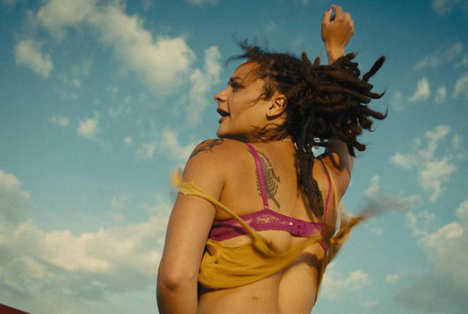 American Honey: Sasha Lane in una scena del film