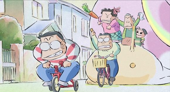 Una scena di I miei vicini Yamada