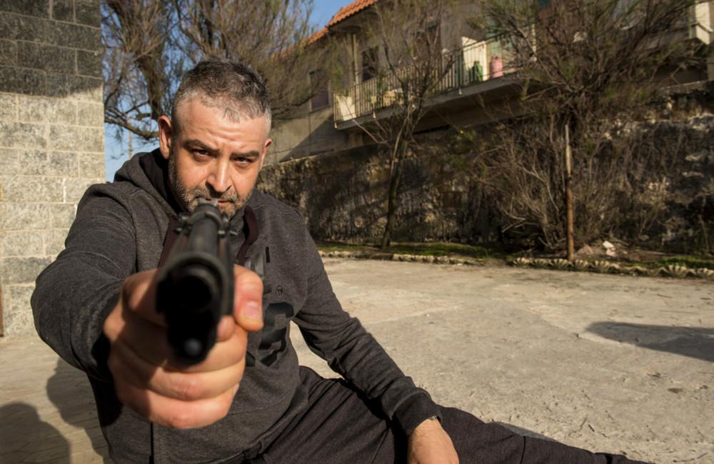 Falchi: Fortunato Cerlino in un'immagine del film