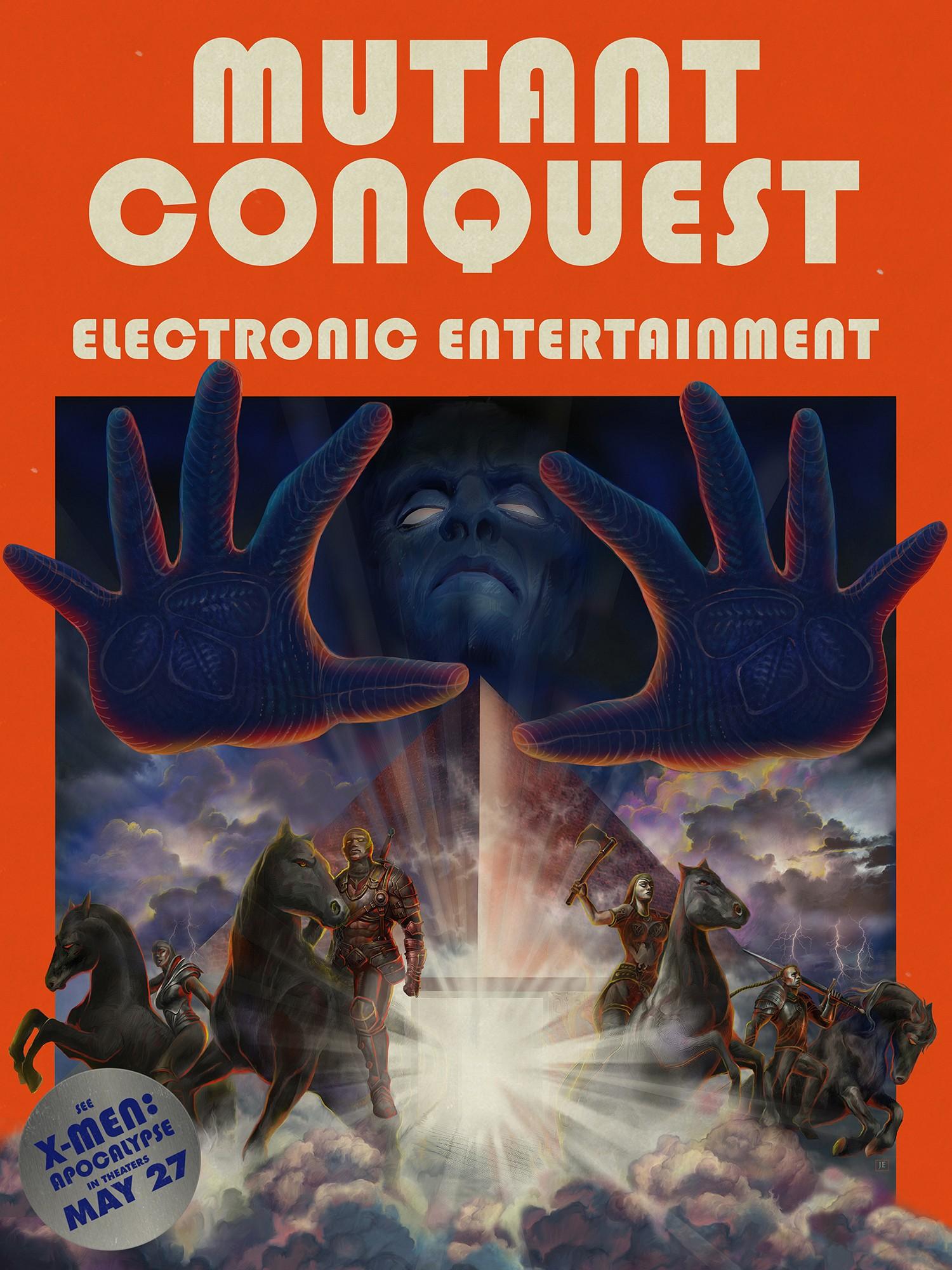 X-Men: Apocalisse: il poster del videogame Mutant Conquest