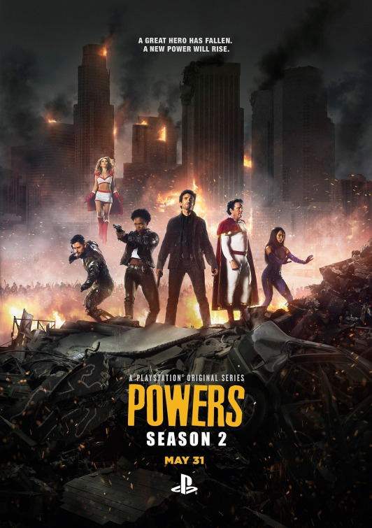 Powers: un poster per la seconda stagione