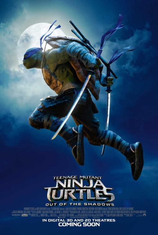 Tartarughe Ninja - Fuori dall'ombra: poster