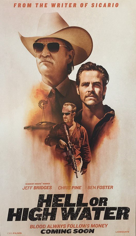 Hell or High Water: il poster del film