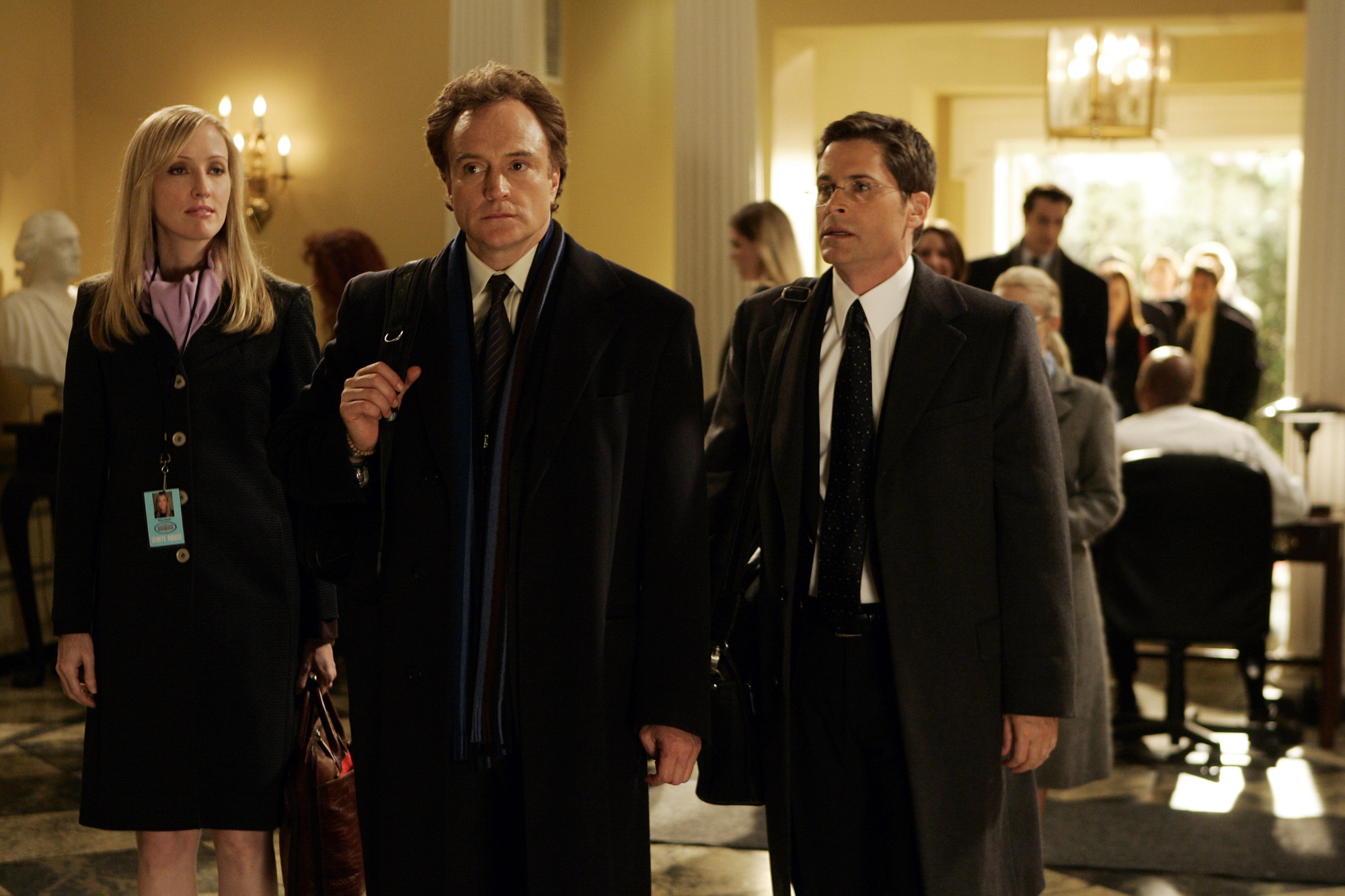 West Wing: un'immagine del cast del serial