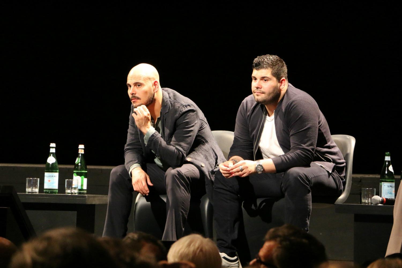 Gomorra 2: Gli attori Marco D'Amore e Salvatore Esposito alla conferenza stampa