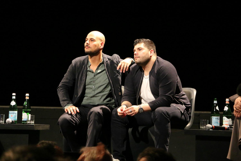 Gomorra 2: Marco D'Amore e Salvatore Esposito alla conferenza stampa