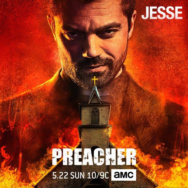 Preacher: il nuovo poster con Dominic Cooper