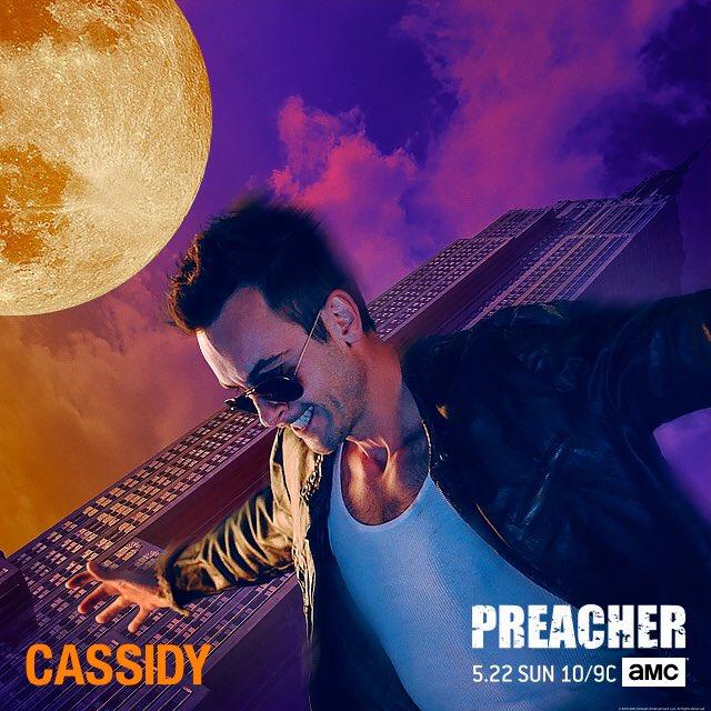 Preacher: il nuovo poster dedicato a Cassidy